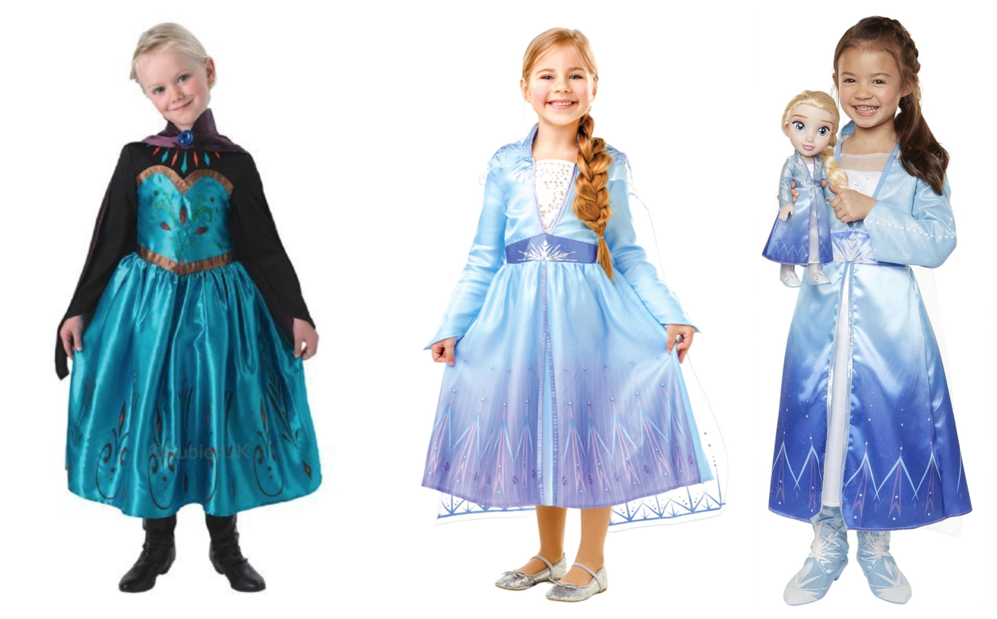Elsa kostume til børn