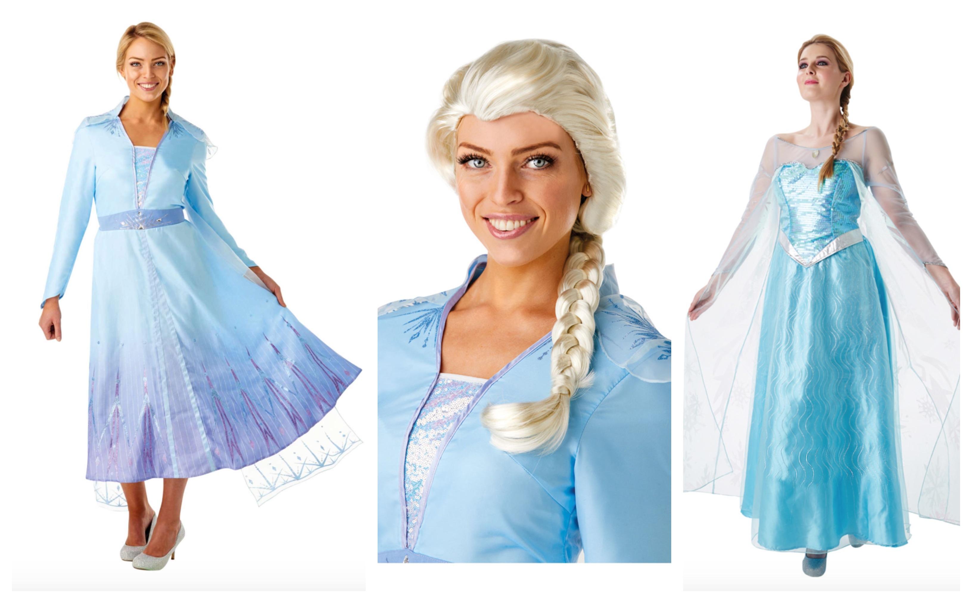 Elsa kostume til voksne