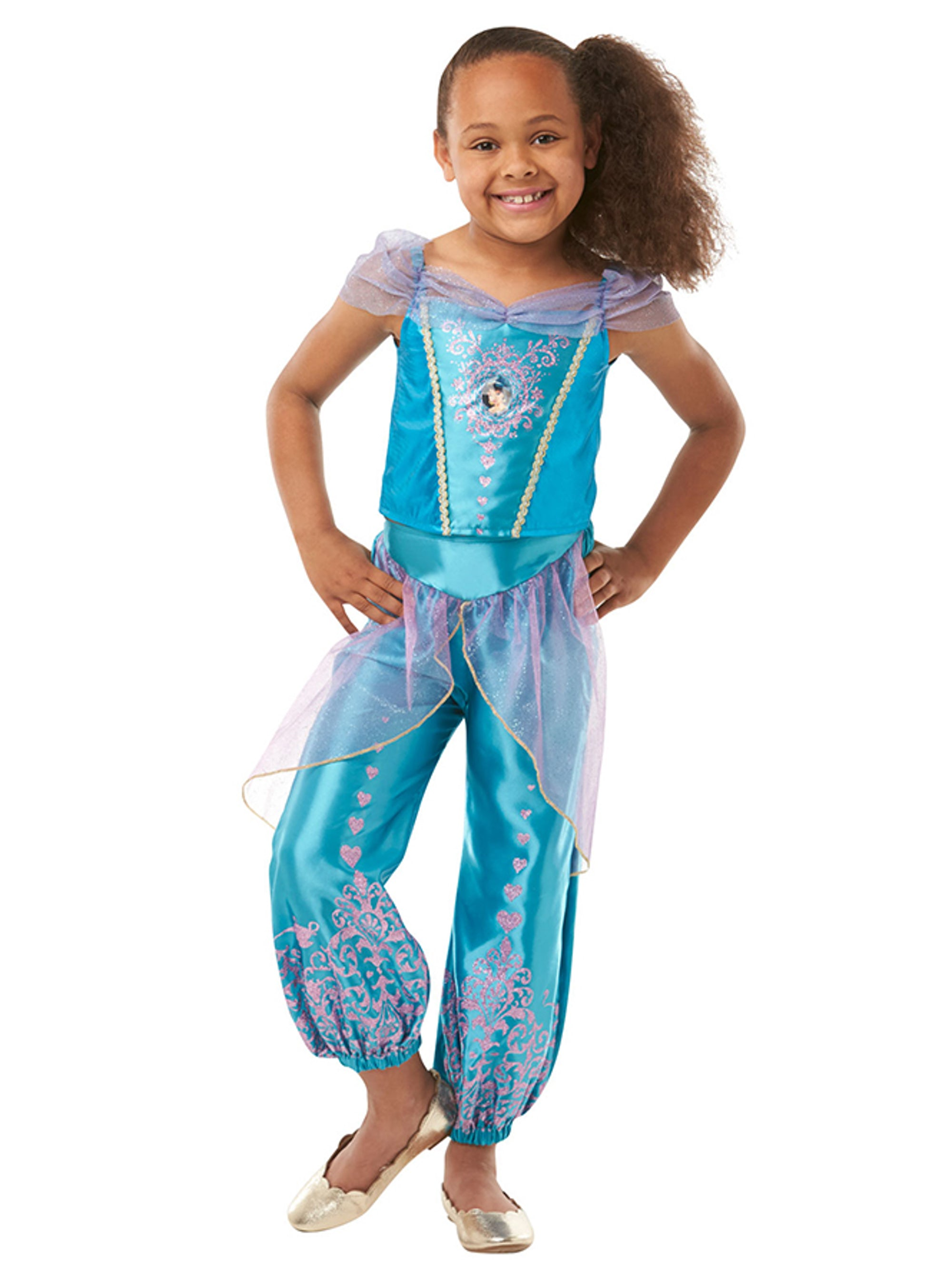 jasmin kostume til børn - Disney prinsesse kostume til børn