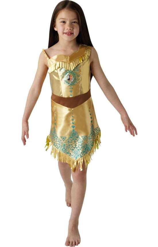pocahontas børnekostume - Disney prinsesse kostume til børn