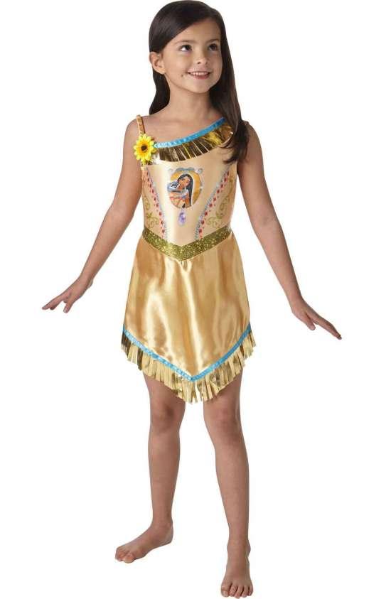 prinsesse pocahontas børnekostume - Disney prinsesse kostume til børn