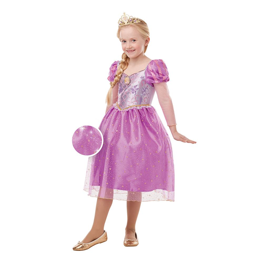 rapunzel kostume til børn - Disney prinsesse kostume til børn