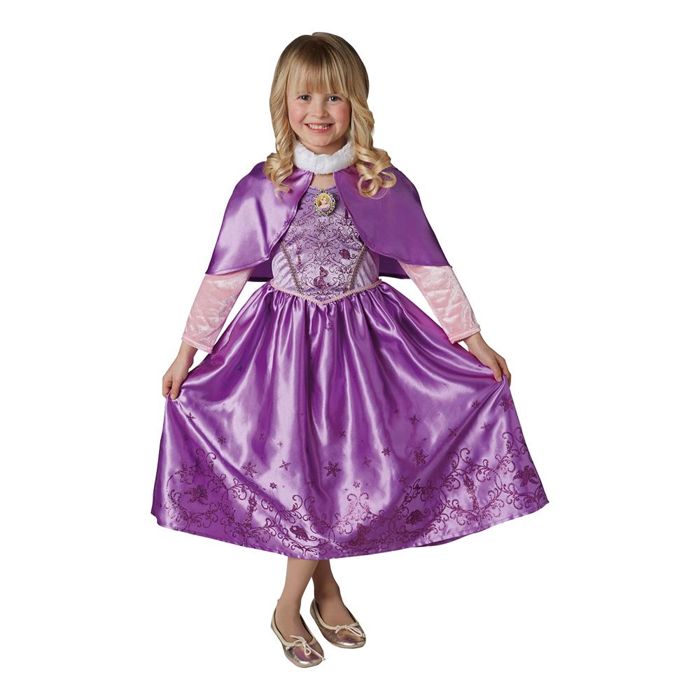 rapunzel vinter børnekostume - Disney prinsesse kostume til børn