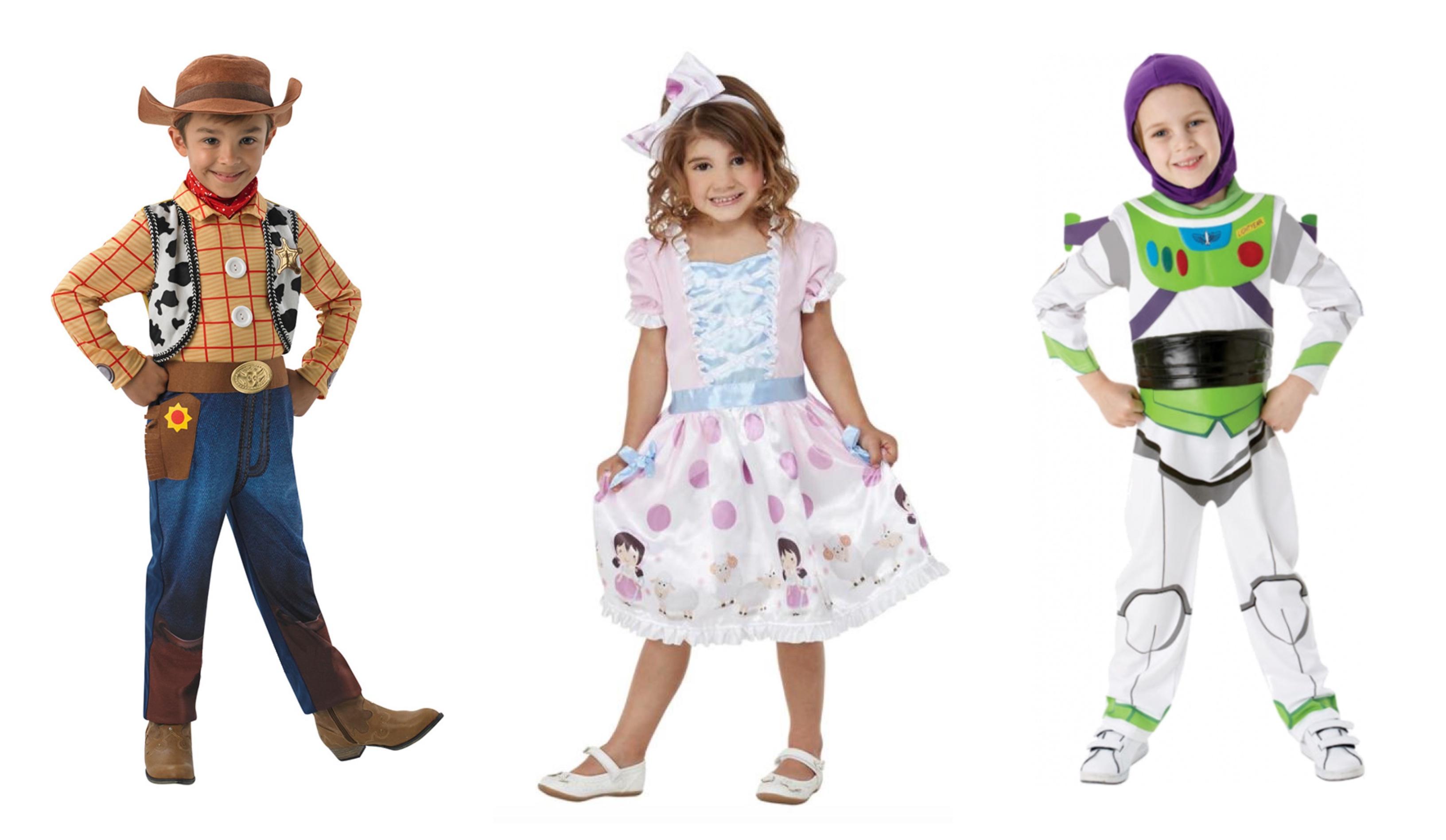 Toy Story børnekostumer