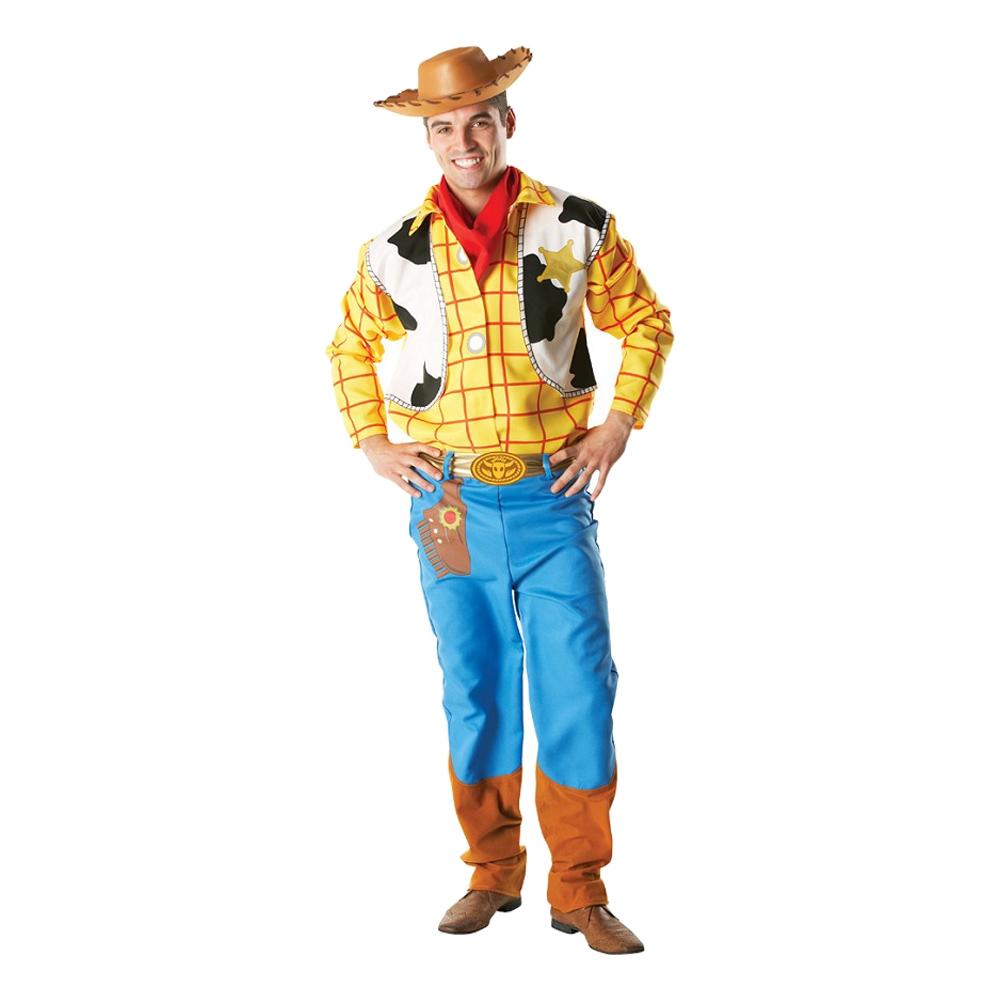 toy story woody voksenkostume - Toy Story kostume til voksne