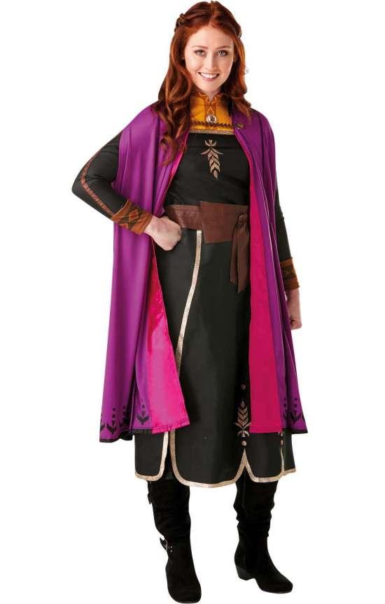 Frost 2 anna kostume - Disney prinsesse kostume til voksne