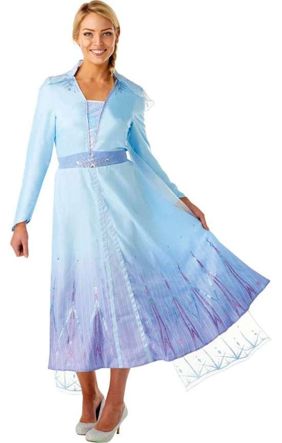 Frost 2 elsa kostume til voksne - Disney prinsesse kostume til voksne
