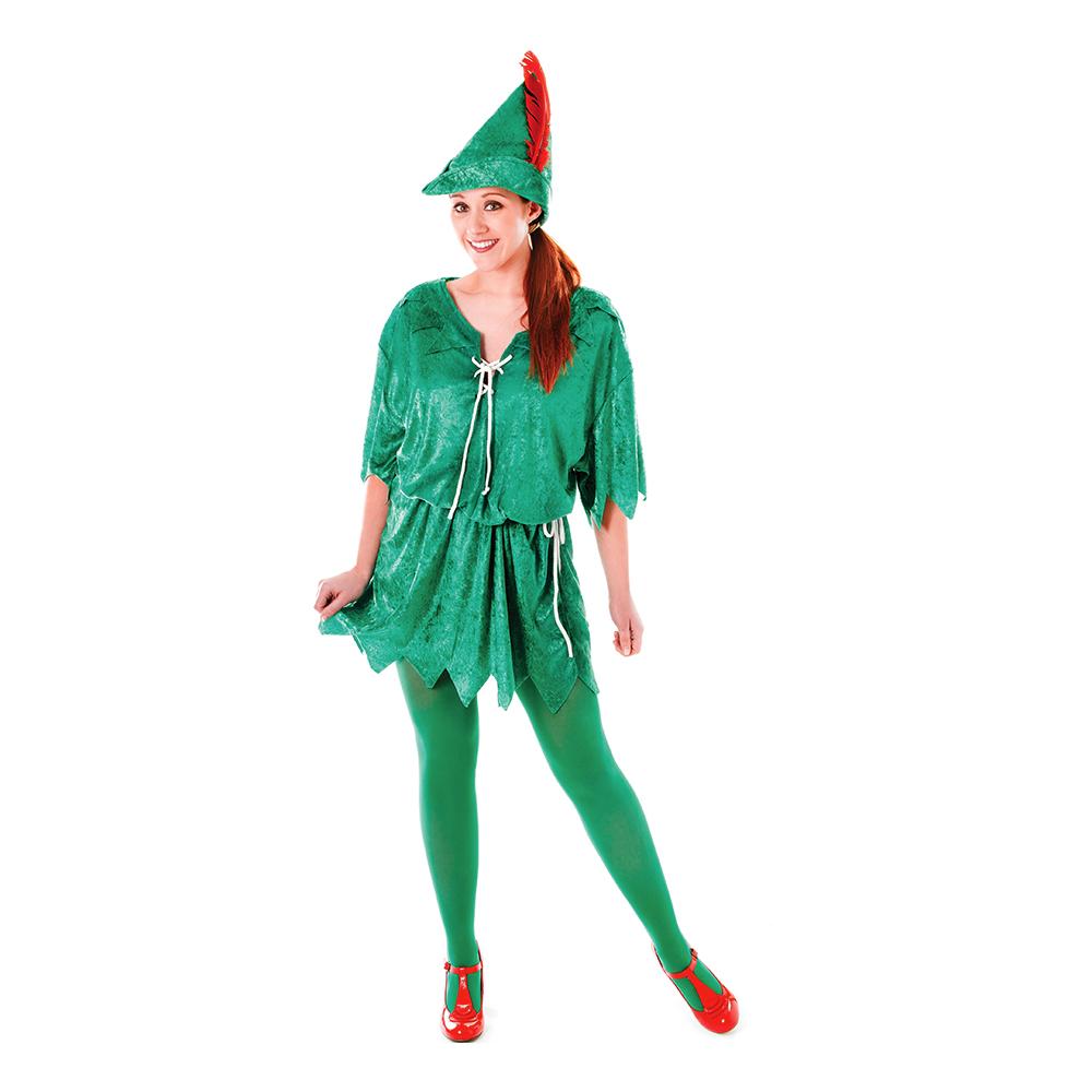 Peter pan kostume til kvinder - Disney kostume til voksne