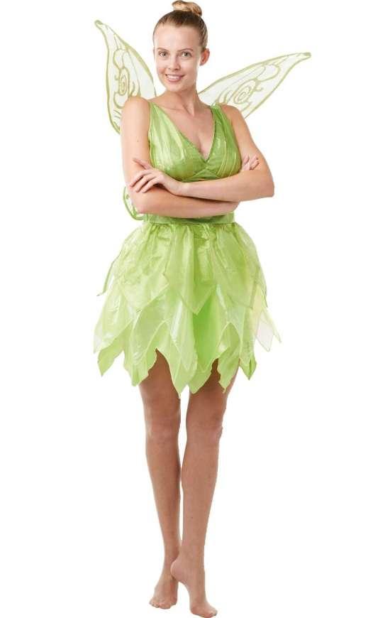 peter pan klokkeblomst kostume kostymer licens kostumer - Klokkeblomst kostume til voksne