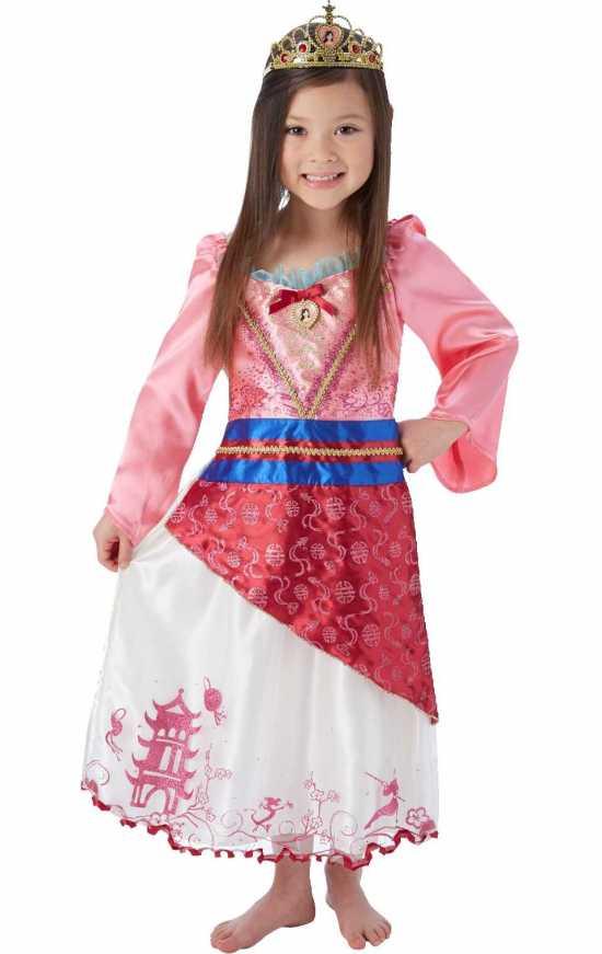 prinsesse mulan boernekostume kostymer 90 er toej 1 - Mulan kostume til børn