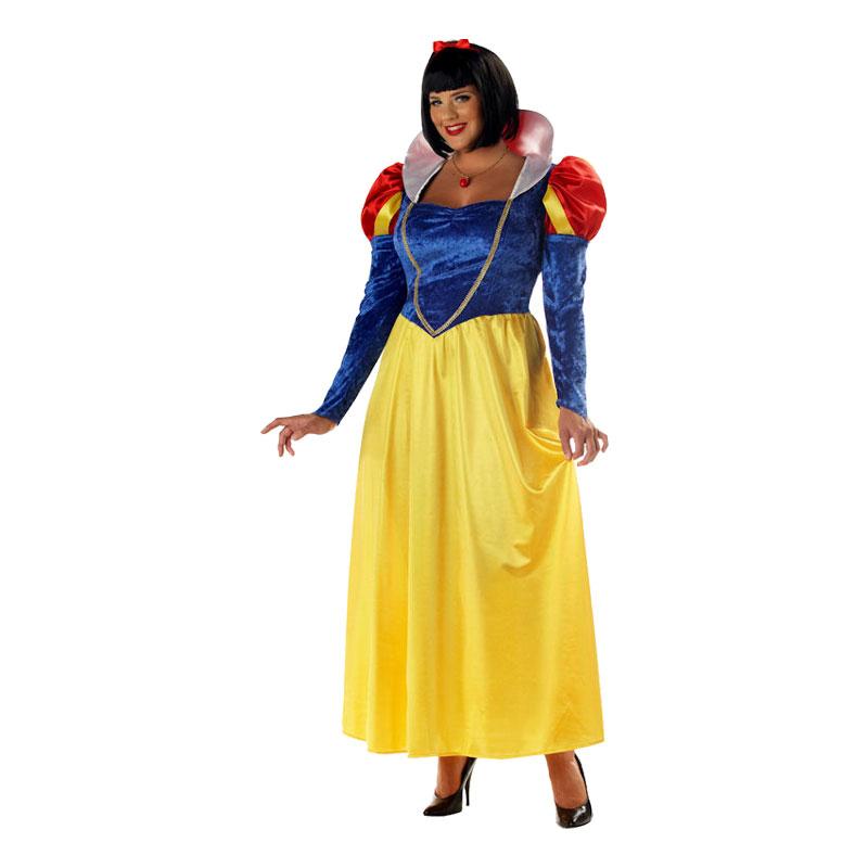 snehvide plus size kostume - Disney kostume til voksne