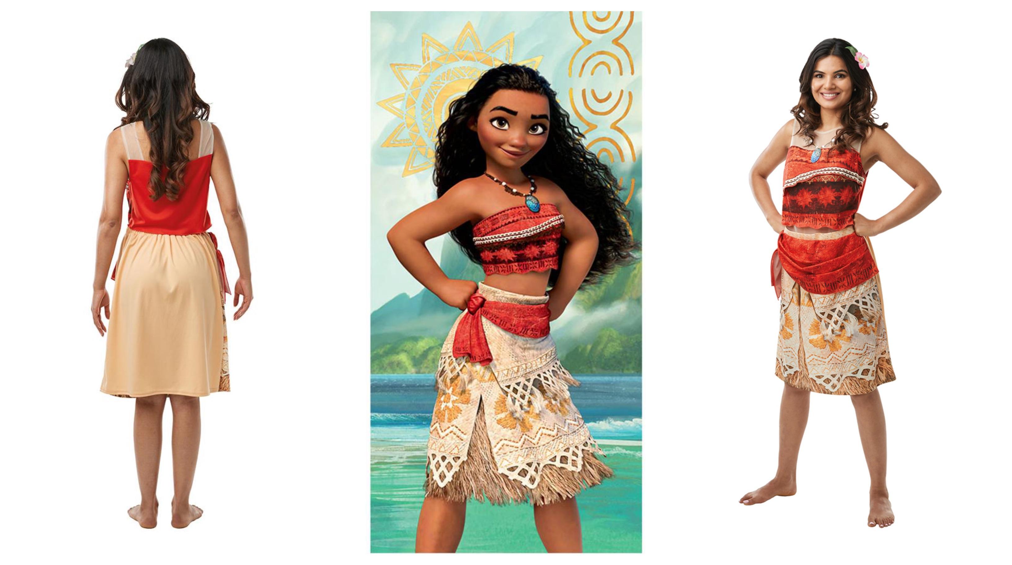 vaiana kostume til voksne, vaiana kostume, vaiana udklædning til voksne, moana kostume til voksne, moana voksenkostume, vaiana voksenkostume, vaiana fastelavnskostume til voksne, disney kostume til voksne, disney voksenkostumer