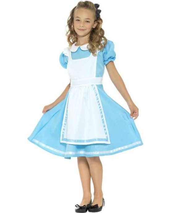 Alice i eventyrland kostume - Alice i Eventyrland kostume til børn