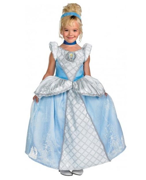 Askepot gallakjole - Askepot kostume til børn