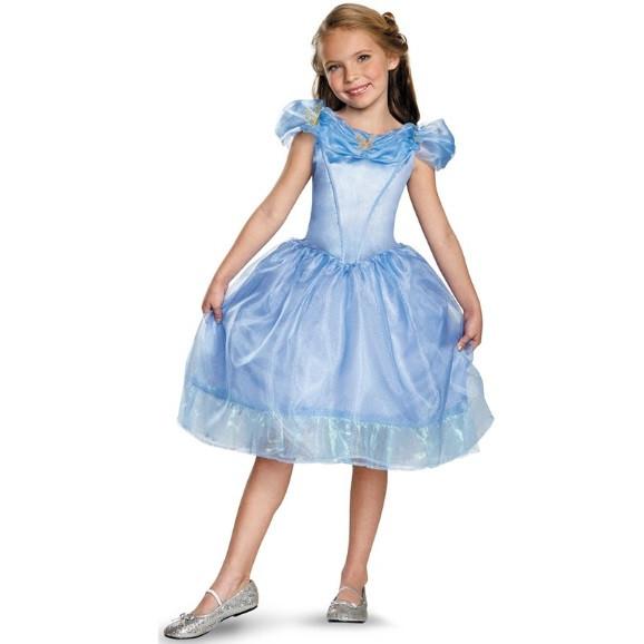 Askepot kjole - Askepot kostume til børn