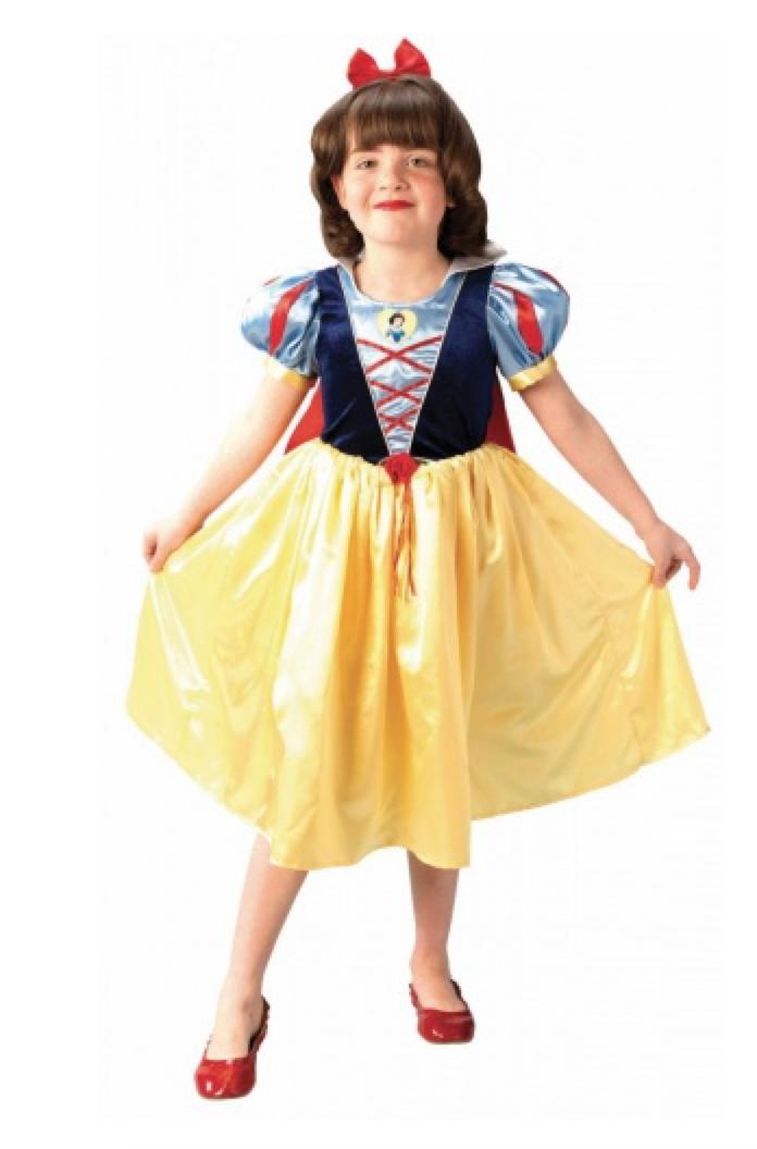 Disney snehvide kostume til børn - Disney prinsesse kostume til børn