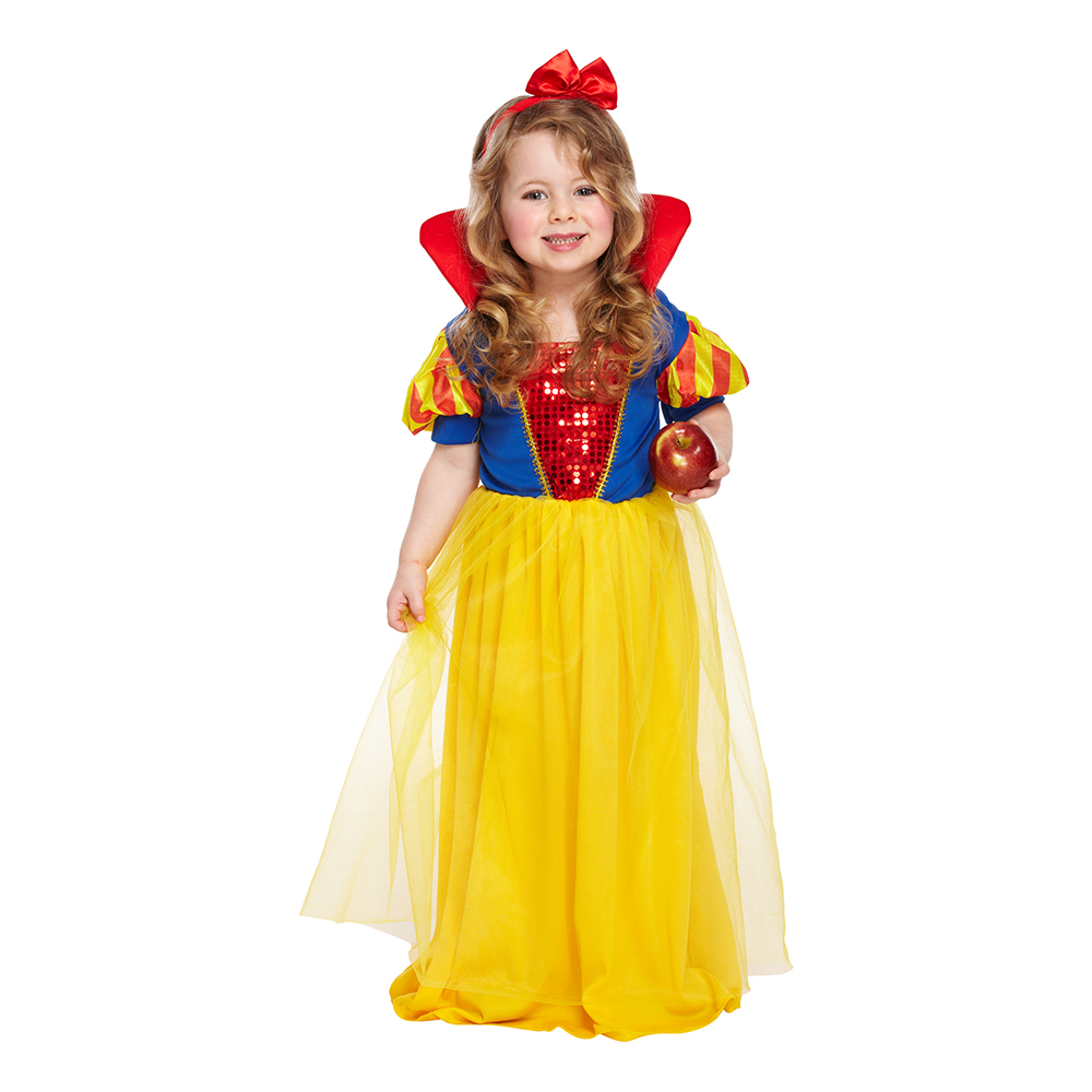 Snehvide børnekostume - Disney prinsesse kostume til børn