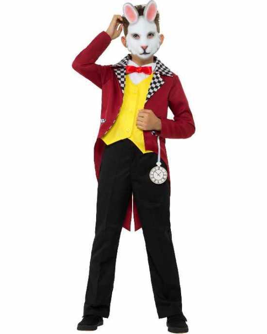 alice i eventyrland kanin kostume - Alice i Eventyrland kostume til børn
