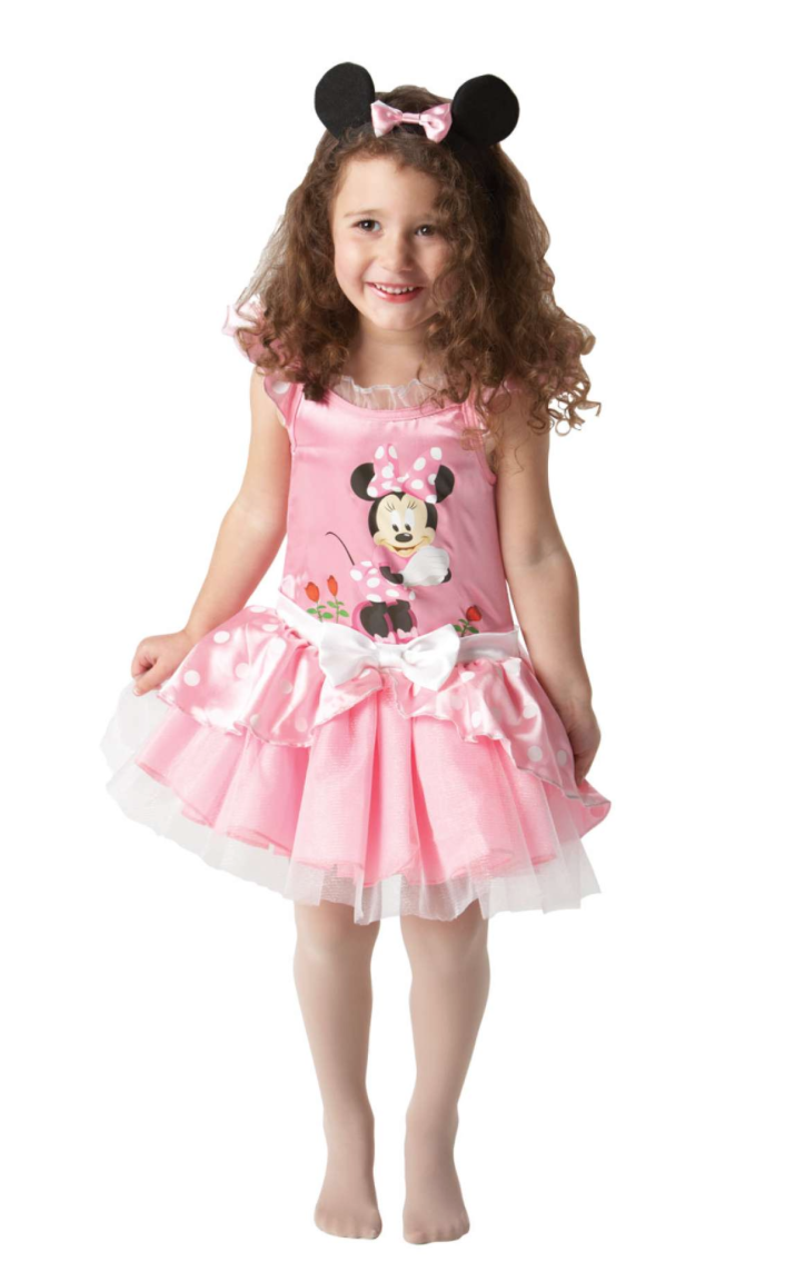 minnie kjole til børn - Minnie Mouse kostume til børn