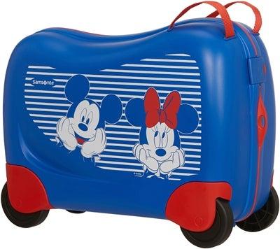 Mickey og Minnie Mouse børnekuffert - Mickey Mouse kuffert