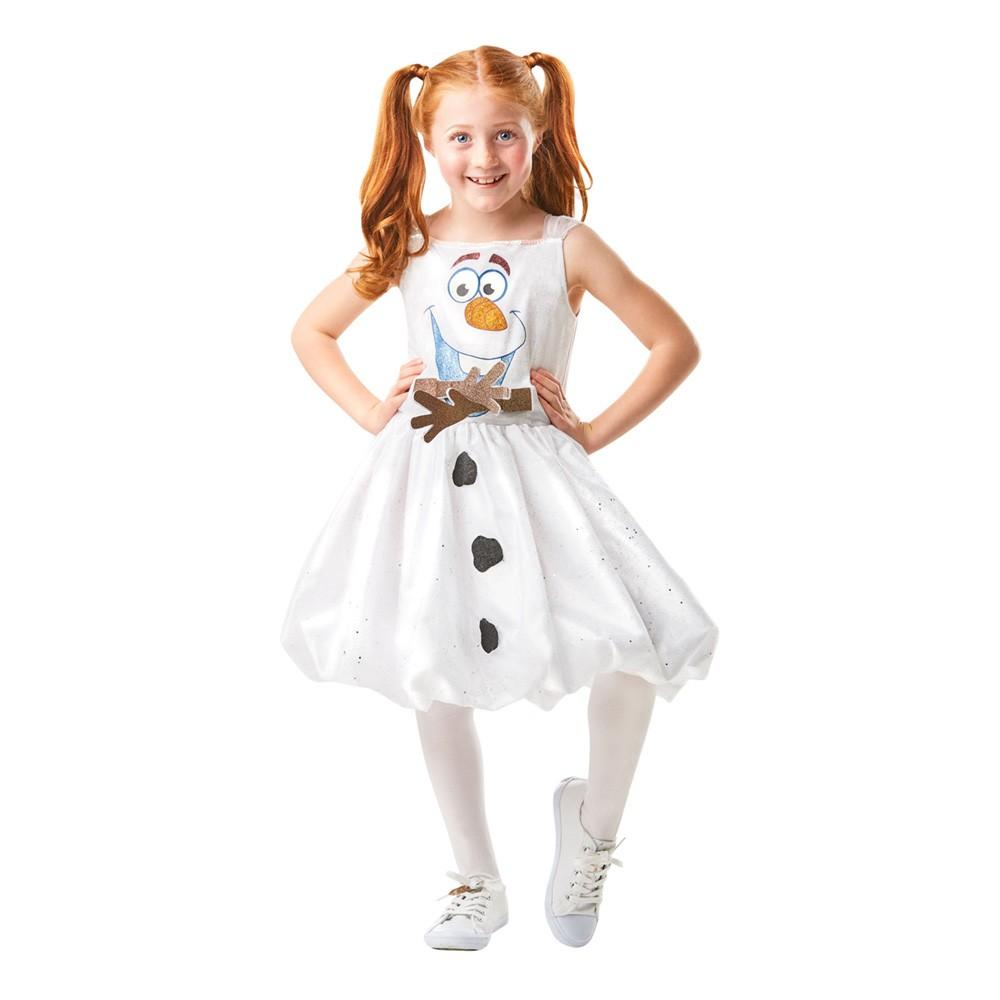 Olaf kostume til piger - Olaf kostume til børn
