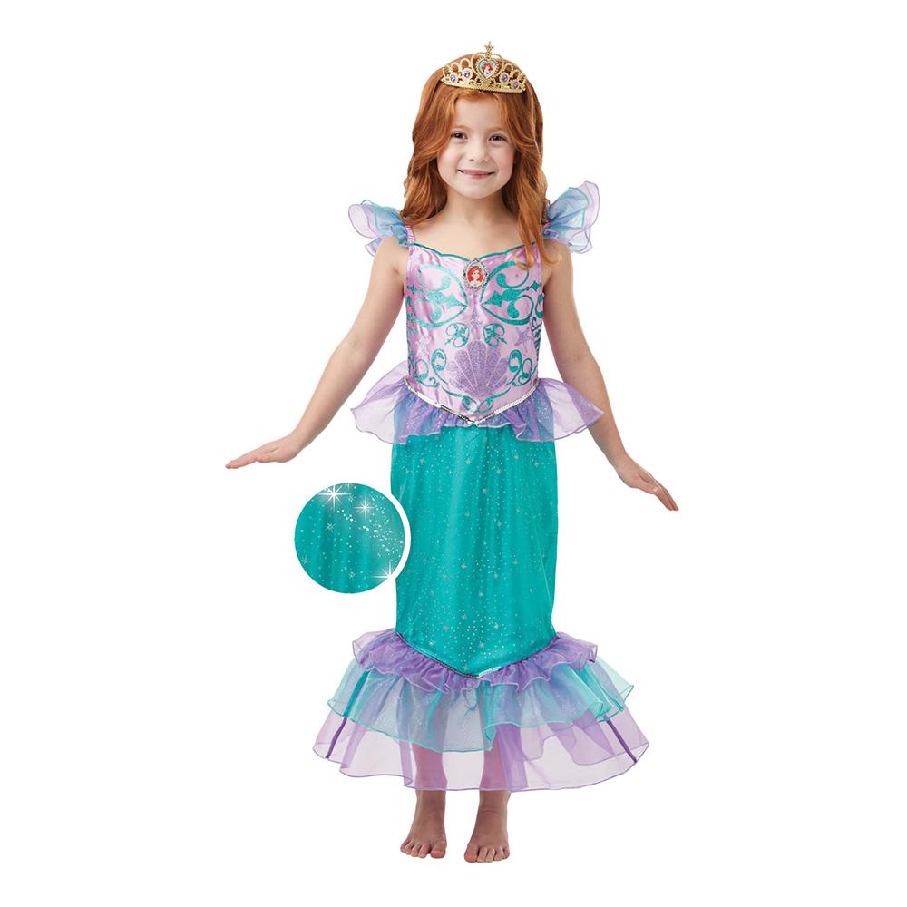ariel børnekostume - Disney prinsesse kostume til børn