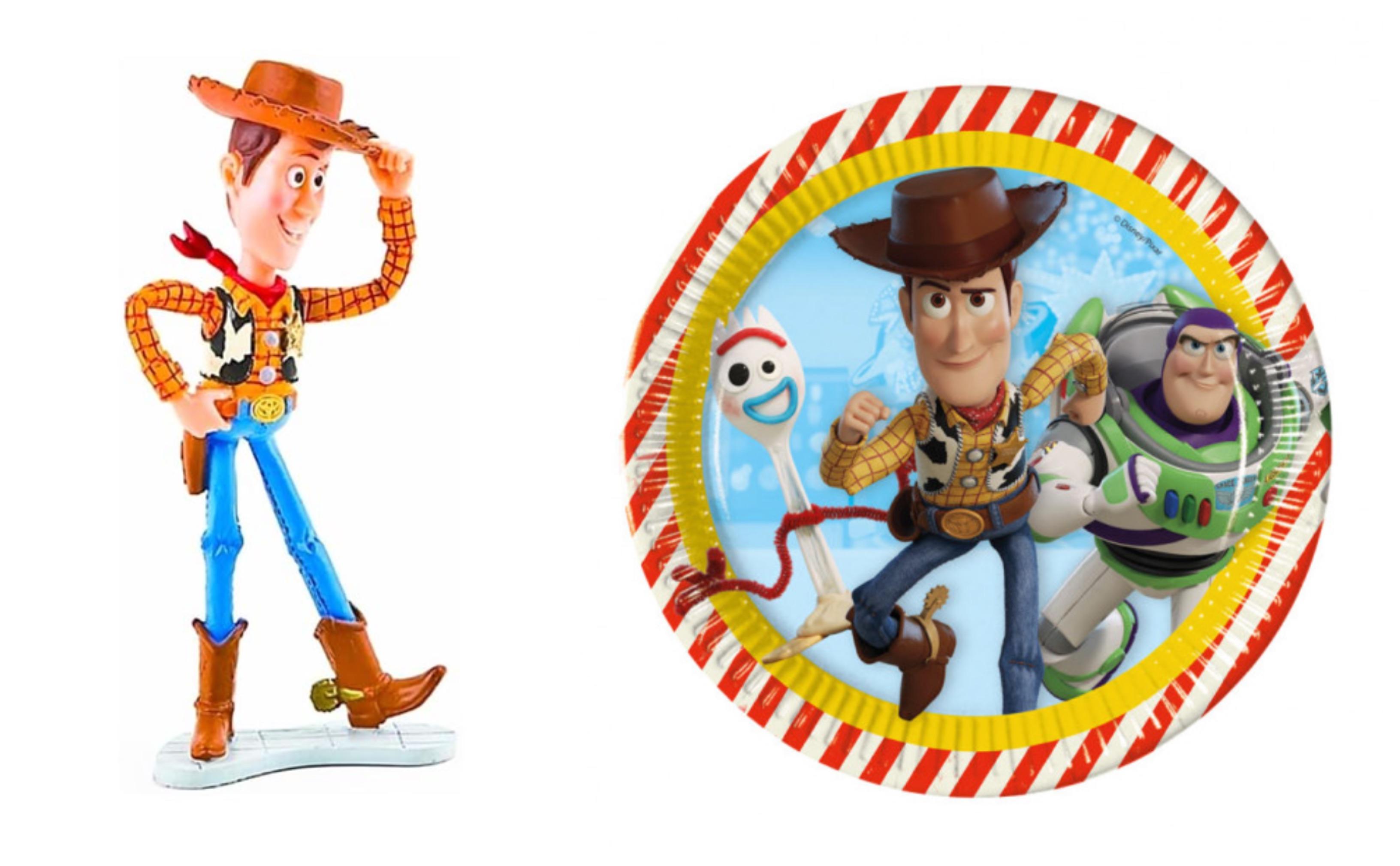 toy story 4 fødselsdag, toy story 4 festartikler, fødselsdag med toy story 4 tema, disney fødselsdagsfest