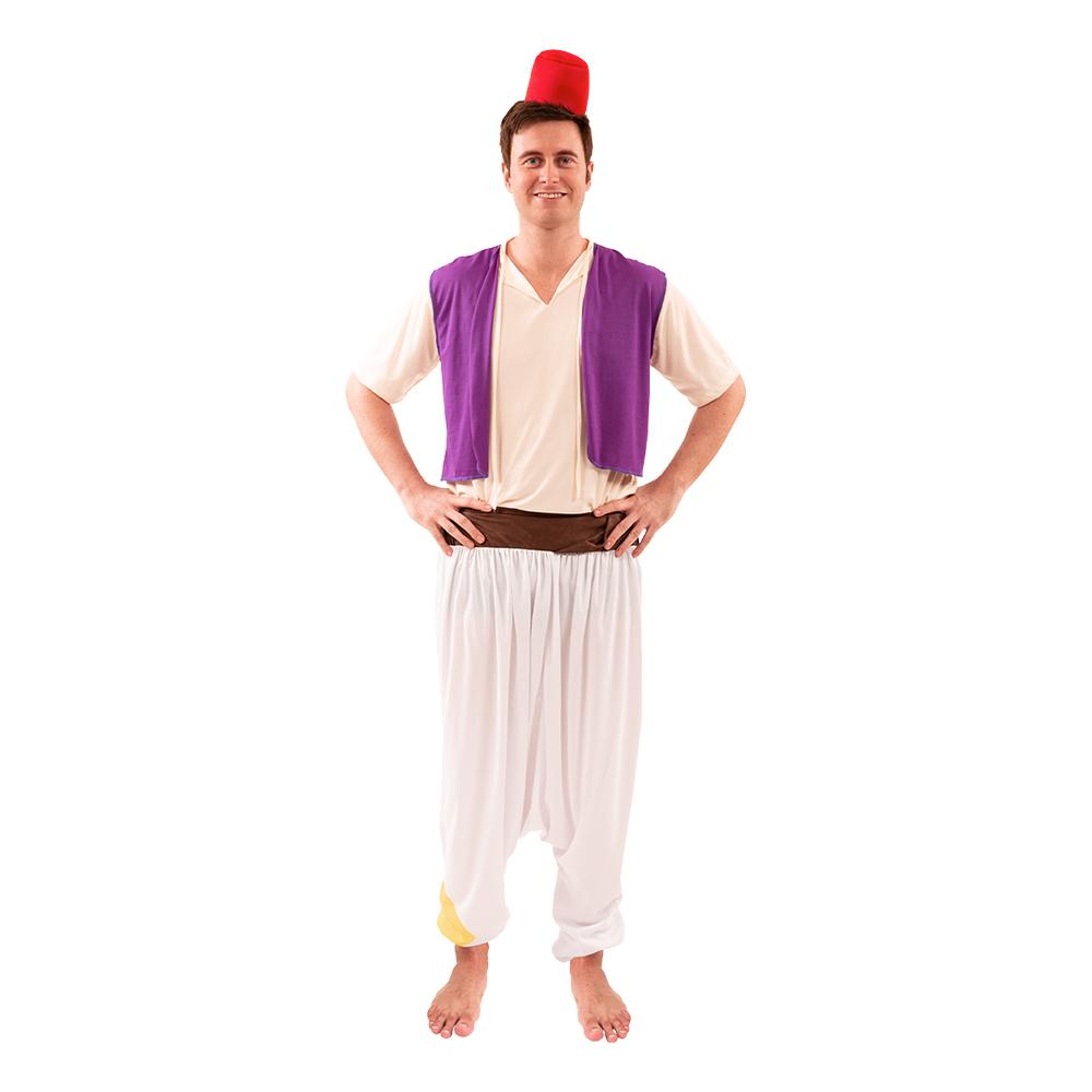 Aladdin kostume til voksne - Disney kostume til voksne