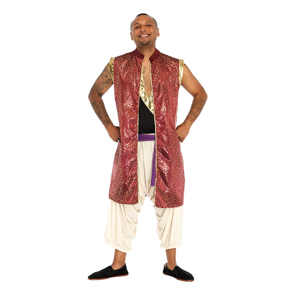 Aladdin orientalsk prins kostume - Disney kostume til voksne