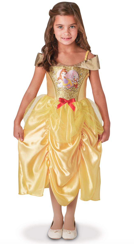 Belle kostume til børn - Belle kostume til børn