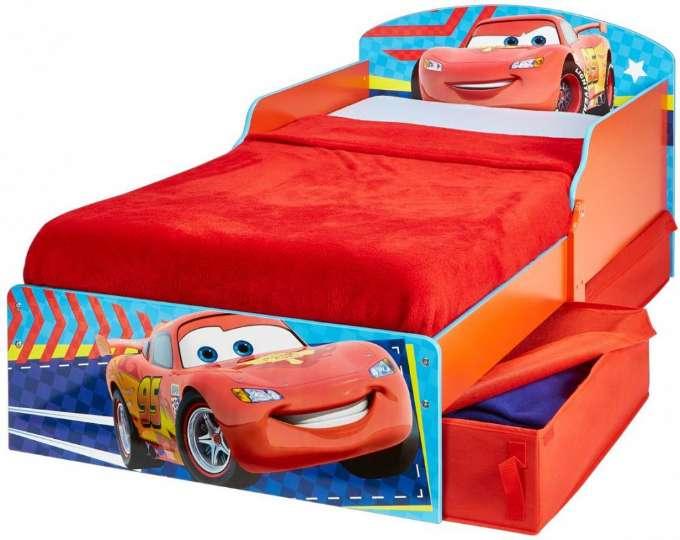 Cars juniorsenge med madras - Mcqueen juniorseng - Cars seng de mindste