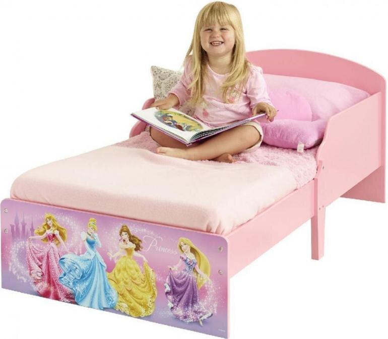 Disney prinsesse børneseng - Disney prinsesser juniorseng