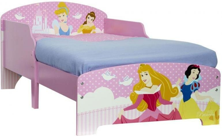 Disney prinsesse juniorseng - Disney prinsesser juniorseng
