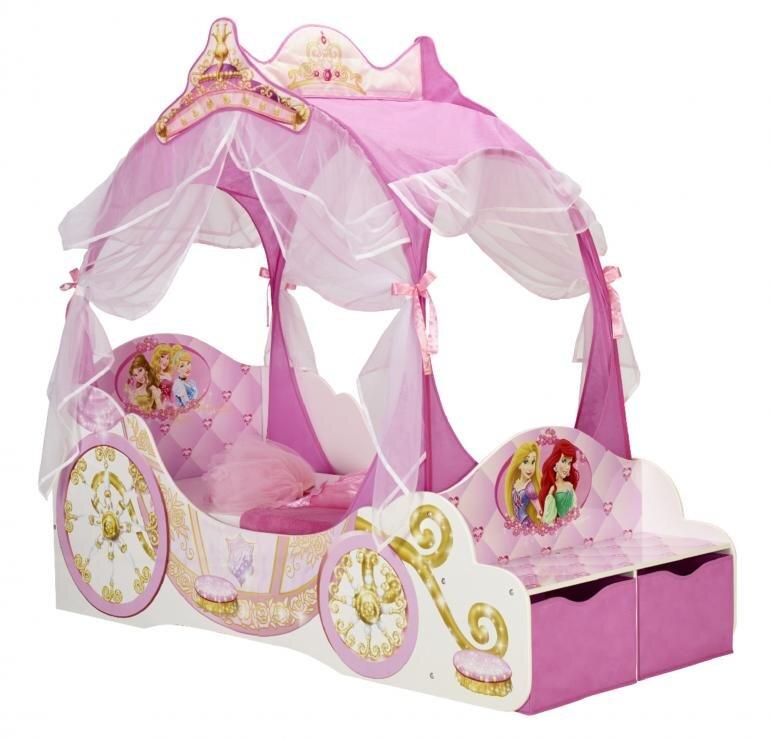 Disney prinsesse seng til børn - Disney prinsesser juniorseng