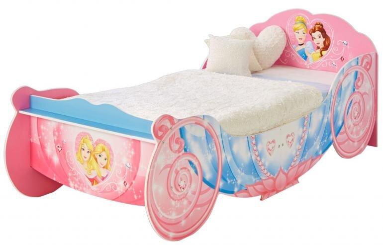 Disney prinsesser seng - Disney prinsesser juniorseng