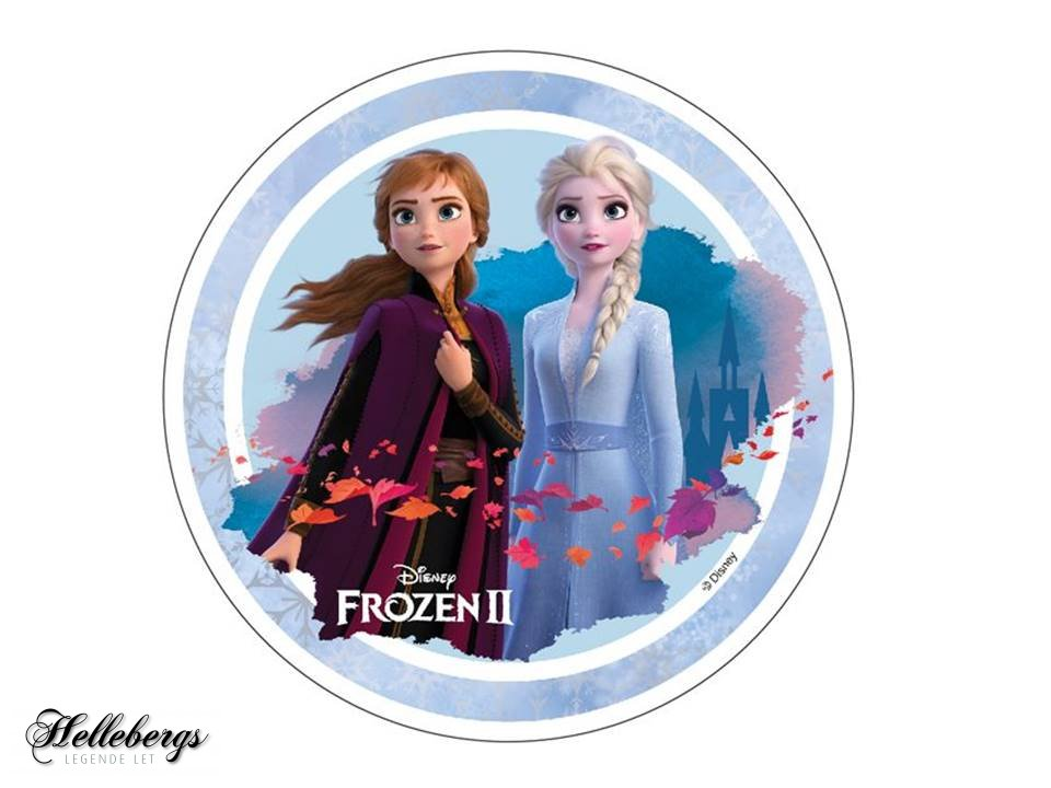 Frozen kageprint nem frost frozen kage - Lav nemt en Frost kage med Frost kageprint