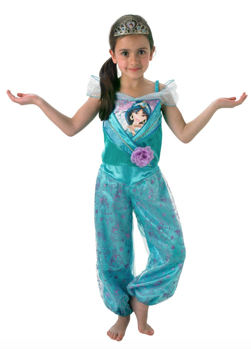 Jasmin børnekostume - Disney prinsesse kostume til børn