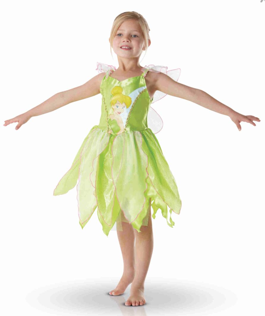Klokkeblomst kostume - Klokkeblomst kostume til børn