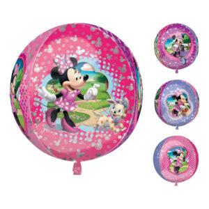 Minnie Mouse ballon 300x300 - Minnie Mouse folieballon - til Minnie Mouse fødselsdagsfesten