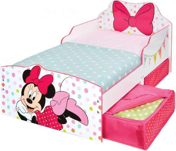 Minnie mouse seng med madras - Minnie Mouse juniorseng