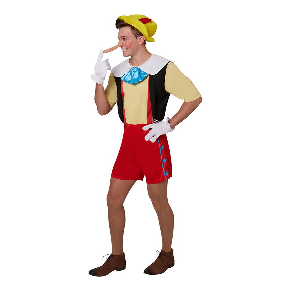 Pinocchio voksenkostume - Disney kostume til voksne