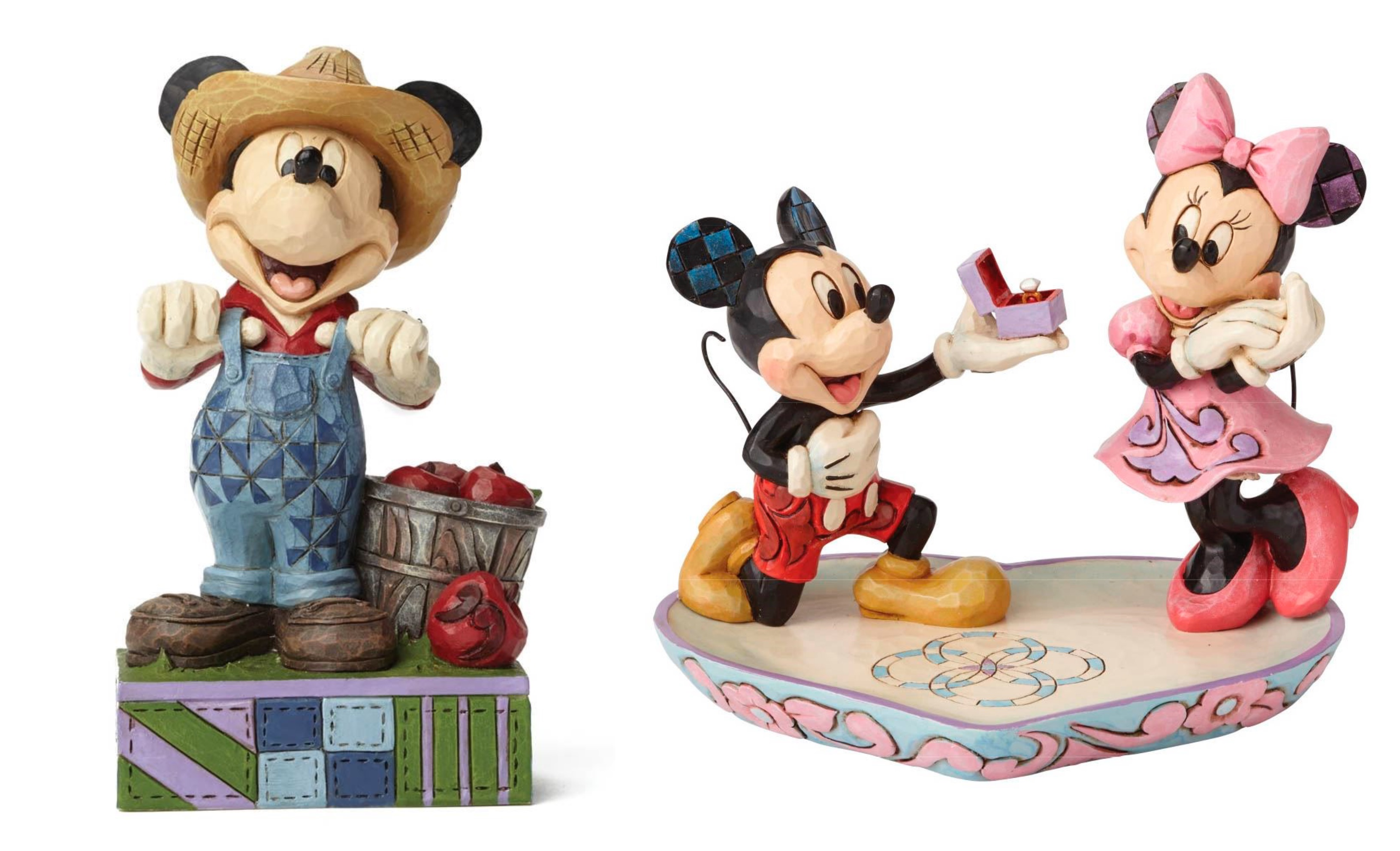Jim Shore – Mickey Mouse figurer