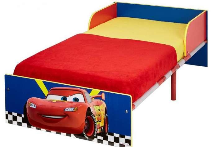 mcqueen juniorseng med madras - Mcqueen juniorseng - Cars seng de mindste
