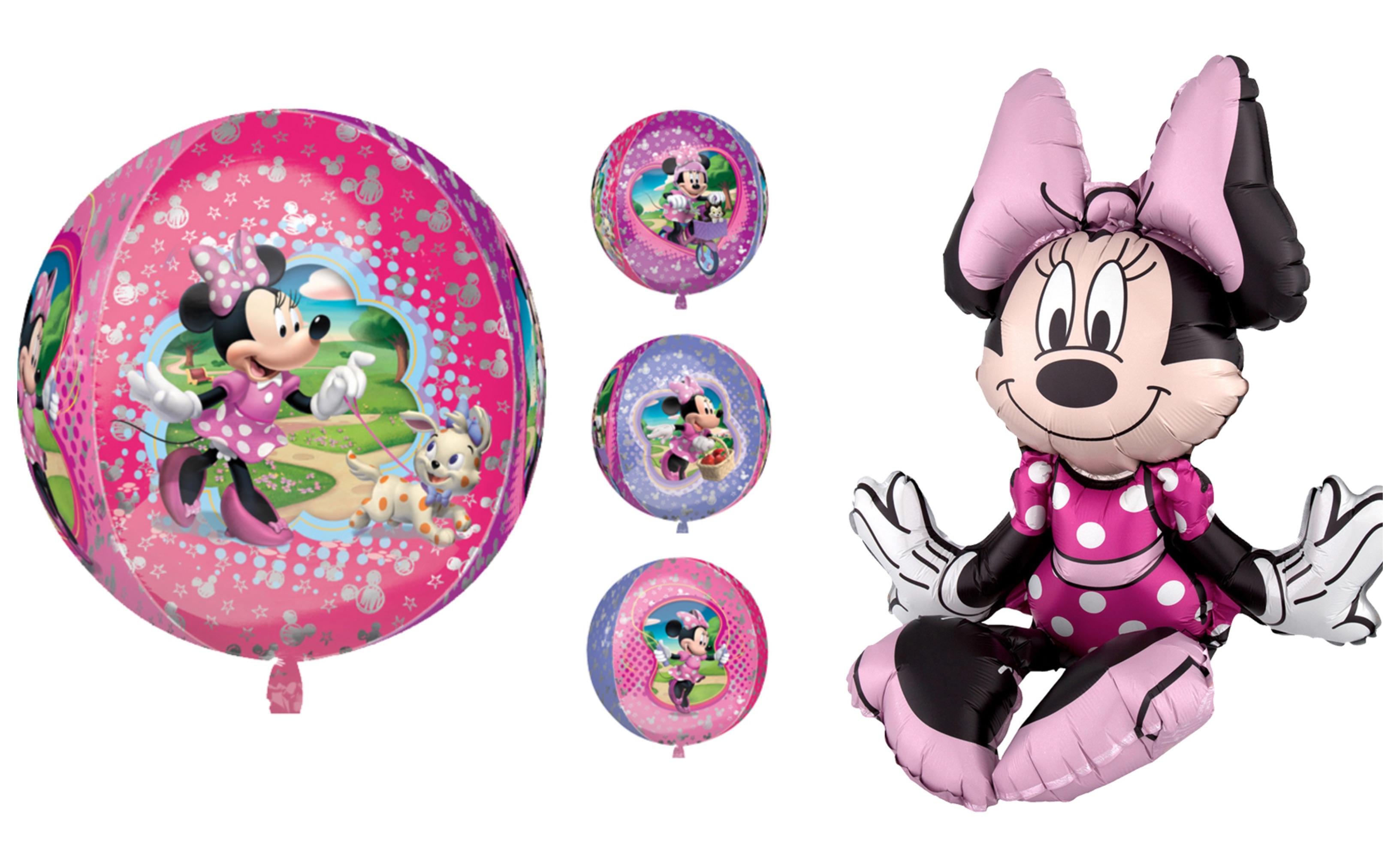 Minnie Mouse folieballon – til Minnie Mouse fødselsdagsfesten