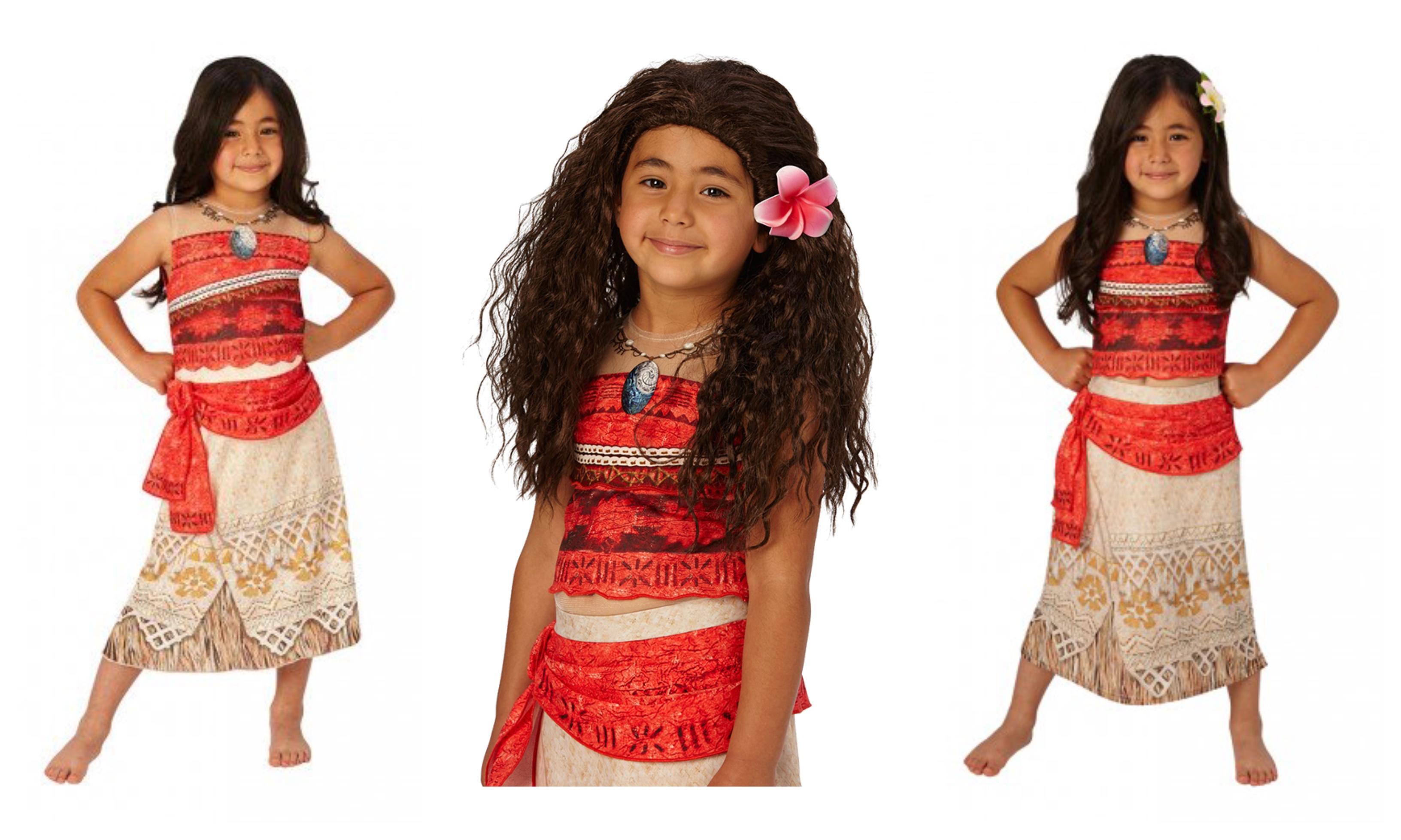 Vaiana kostume til børn