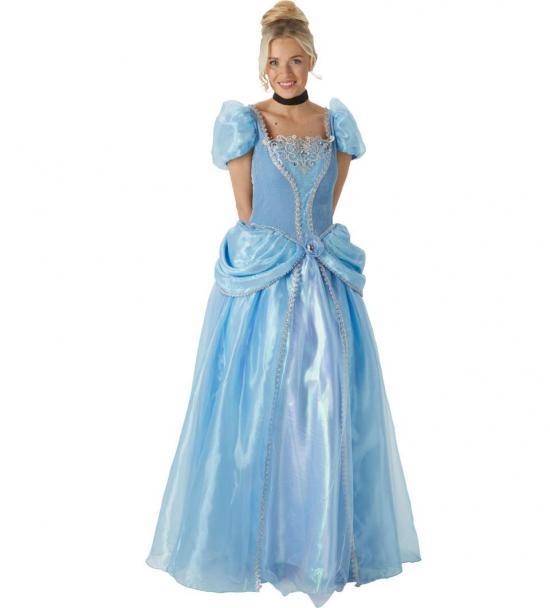 Askepot voksenkostume - Disney prinsesse kostume til voksne