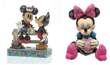 Jim Shore - Minnie Mouse figurer, jim shore minnie mouse figur, jim shore disney figurer, jim shore figurer, jim shore disney figur tilbud, jim shore minnie mouse figur tilbud, minnie mouse gaver, gave til minnie mouse fan, minnie mouse samlerobjekt