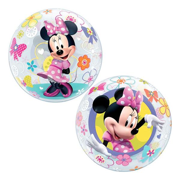 Minnie mouse ballon - Minnie Mouse folieballon - til Minnie Mouse fødselsdagsfesten