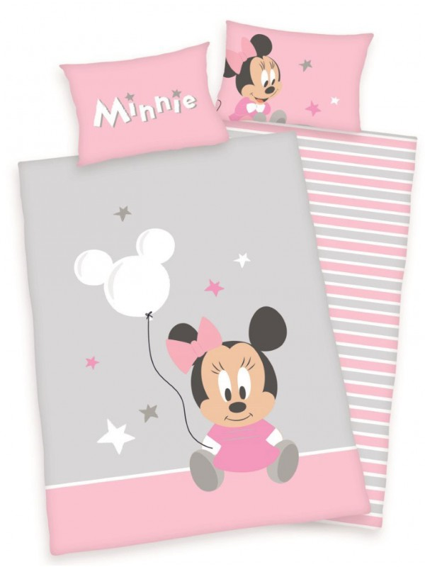 Minnie mouse junior sengetøj - Minnie Mouse sengetøj