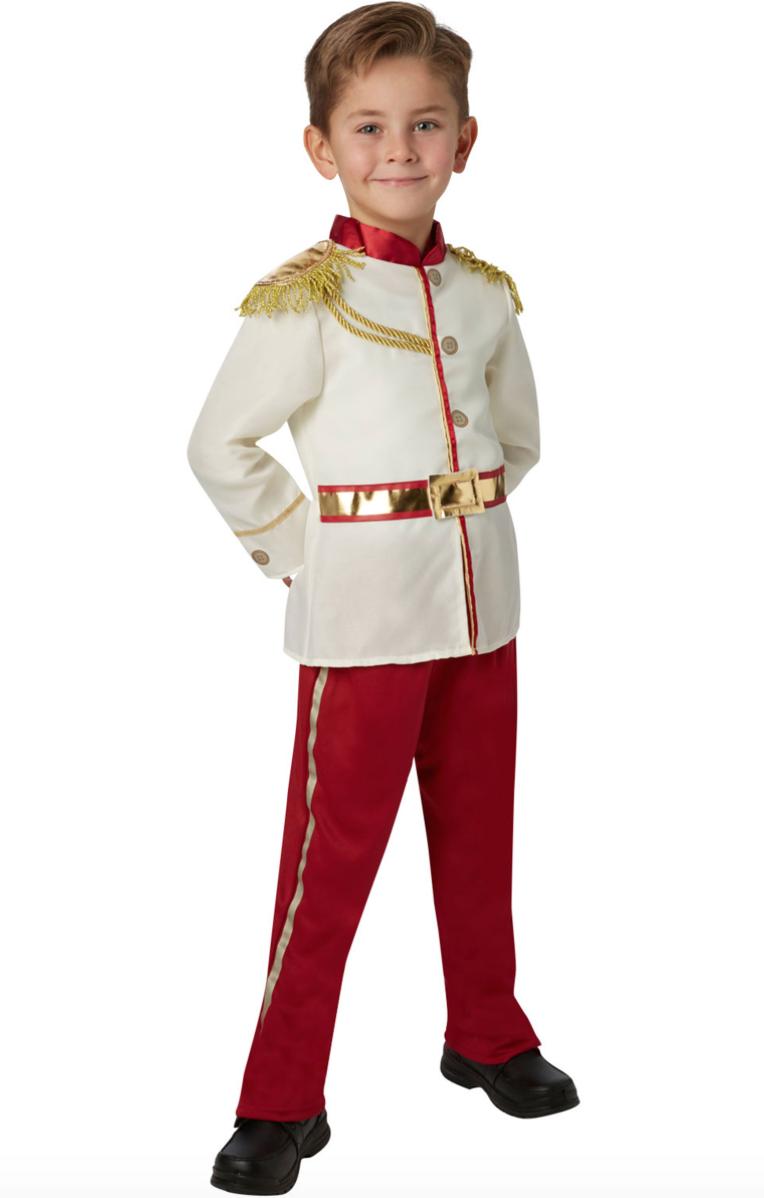 Prins charming askepot kostume - Askepot kostume til børn